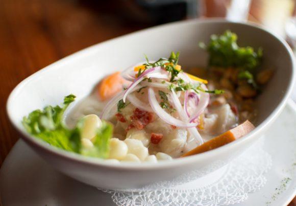 The Dish: Ceviche at Lima Taverna